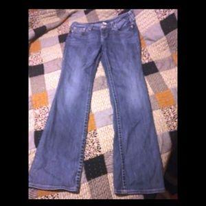 Women's true religion denim jeans